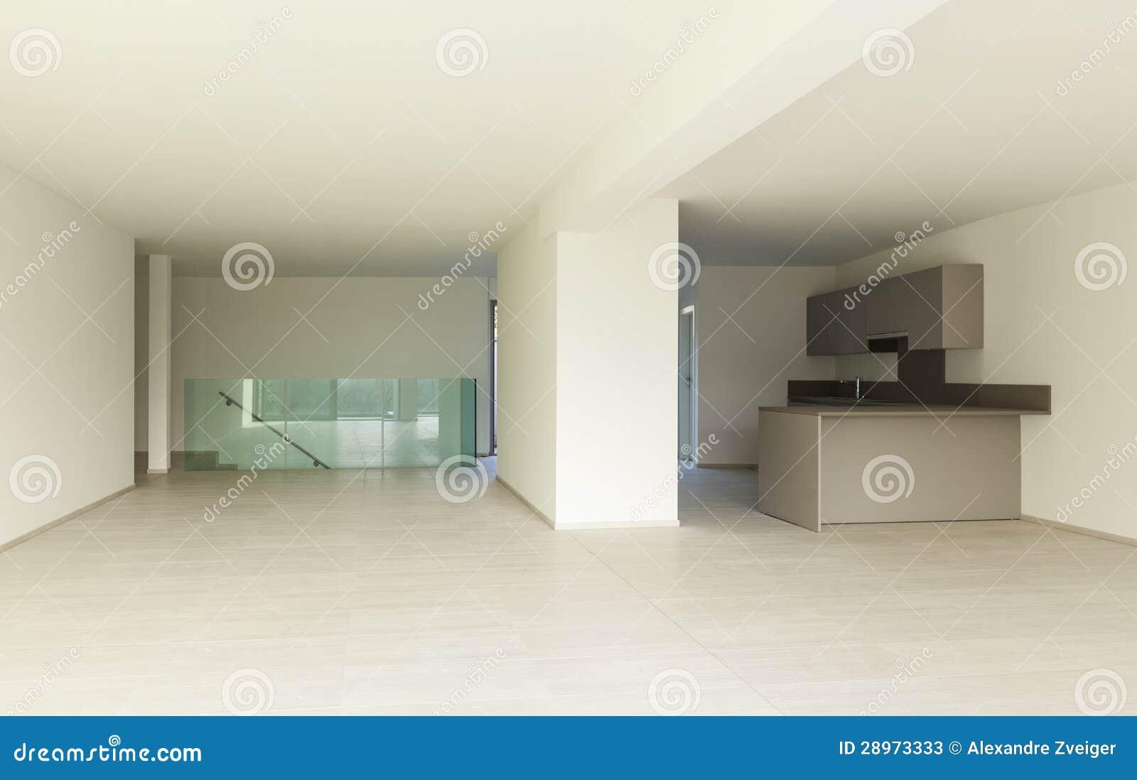 Wewnętrzna nowożytna architektura