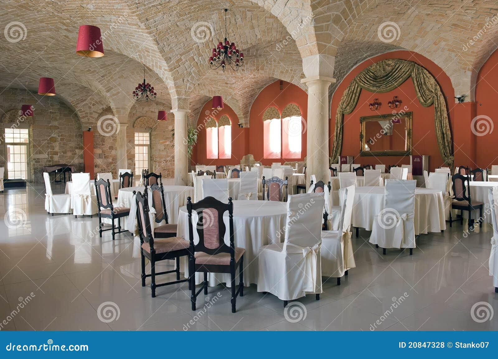 Wewnętrzna restauracja