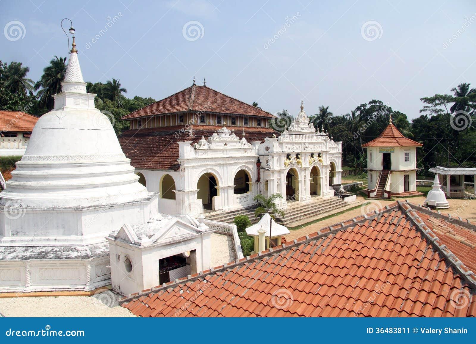 Wewurukannala Vihara Stock Image Image 36483811