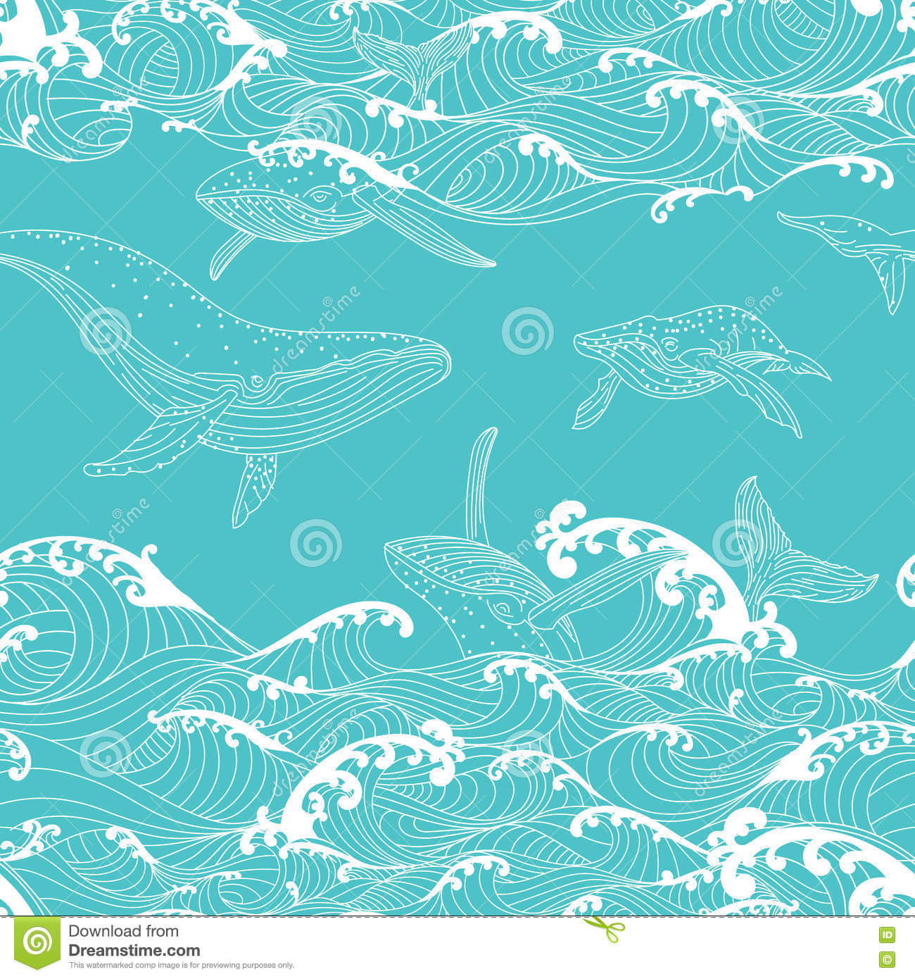 Ocean Wave Pattern Magnificent Decorating Design