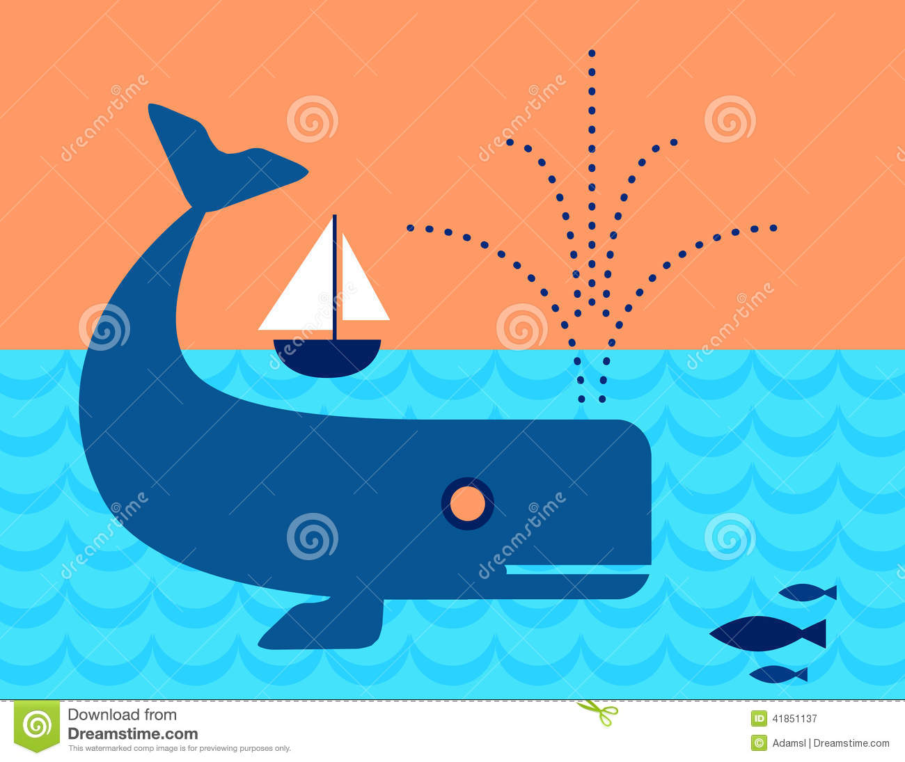 A sailboat is a fish that swims the fastest of all fish in the world. Fishing, description, speed 53