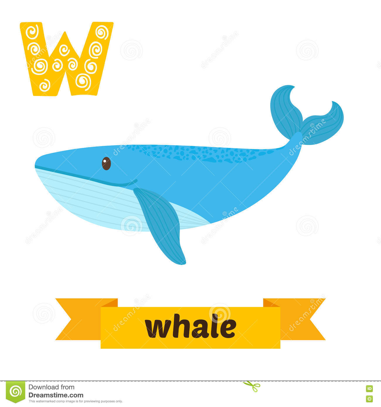 Whale Letter Stock Illustrations – 507 Whale Letter Stock ...