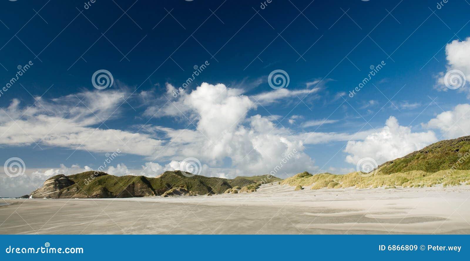 Wharariki пляжа
