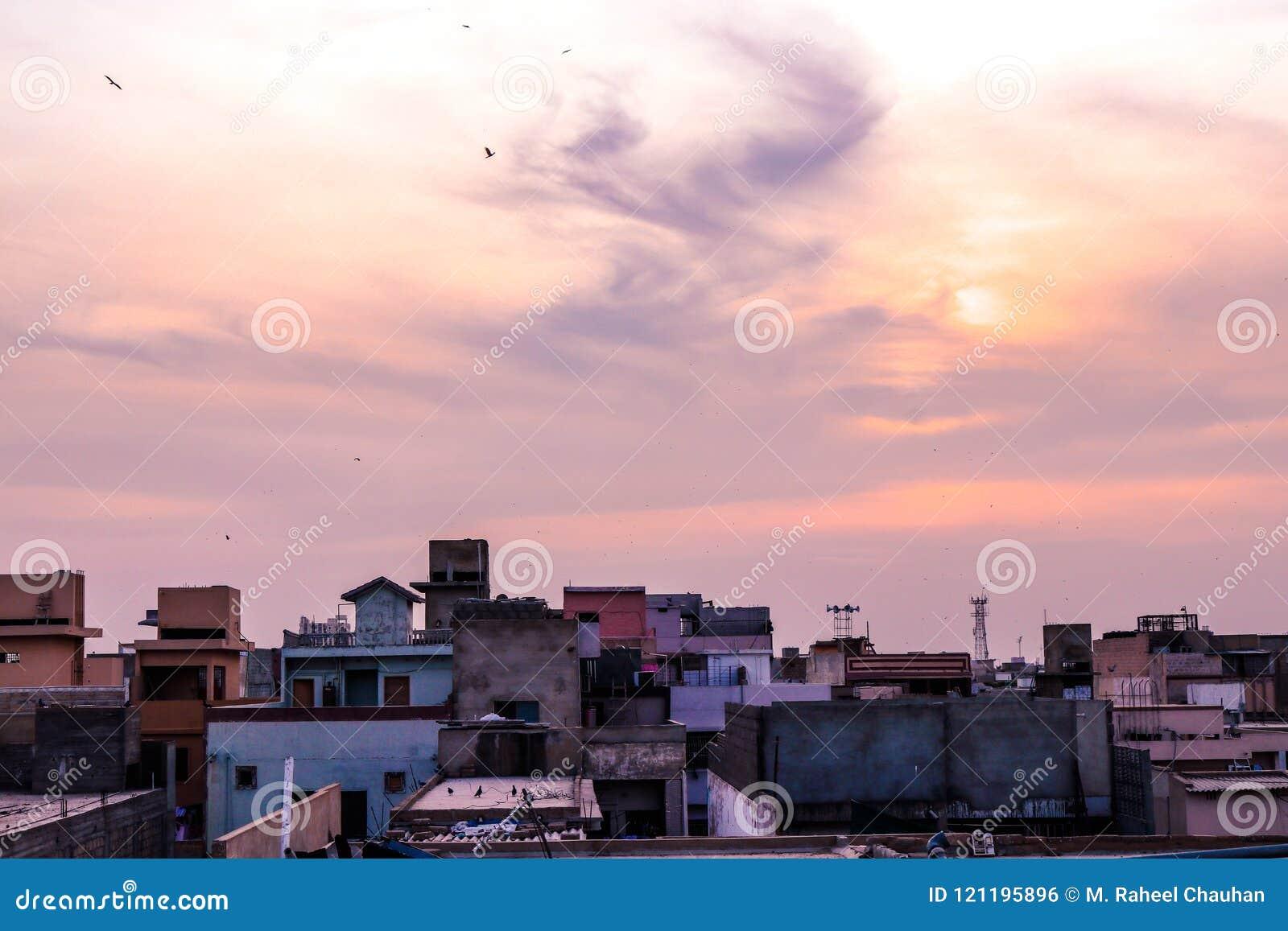 Karachi City stock photo  Image of basilica, france - 121195896