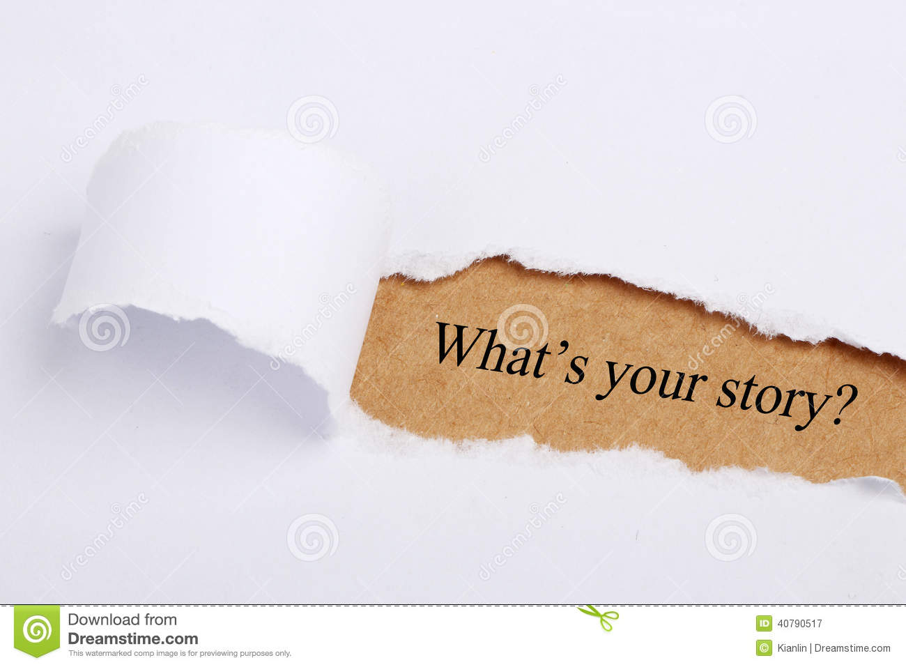 What s your story?