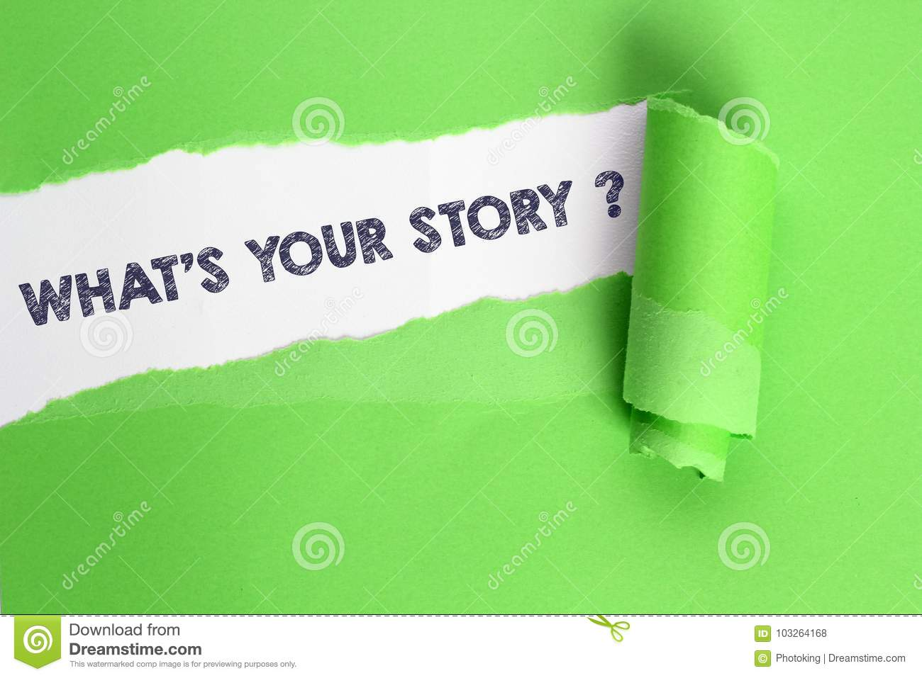 What´s your story