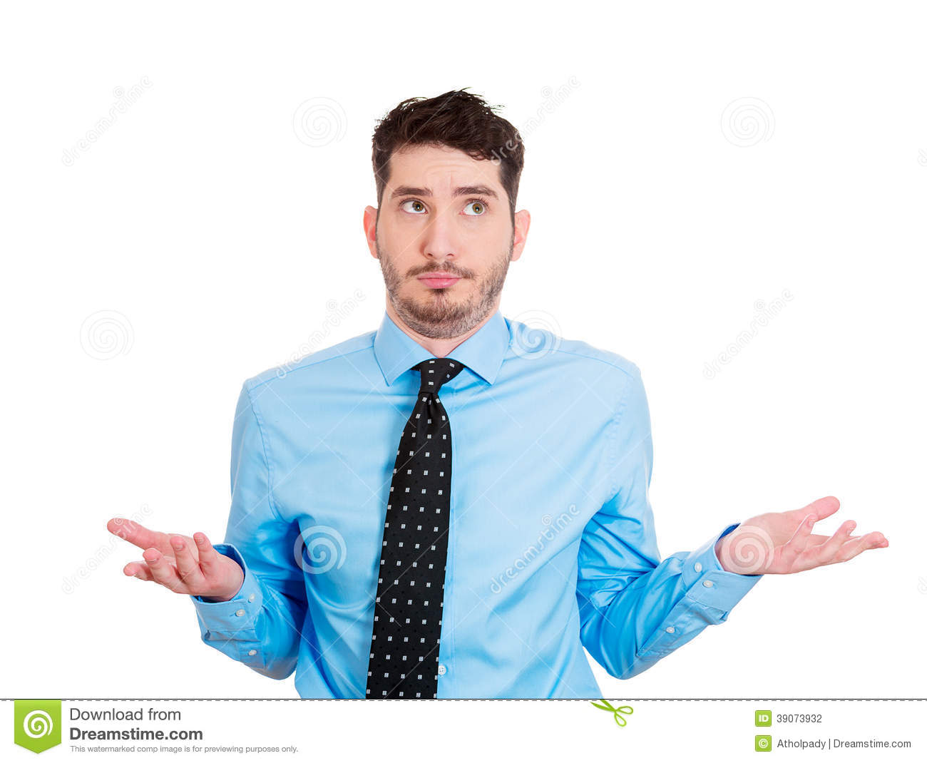 So What, Who Cares, I Don't Know Stock Photo - Image: 39073932