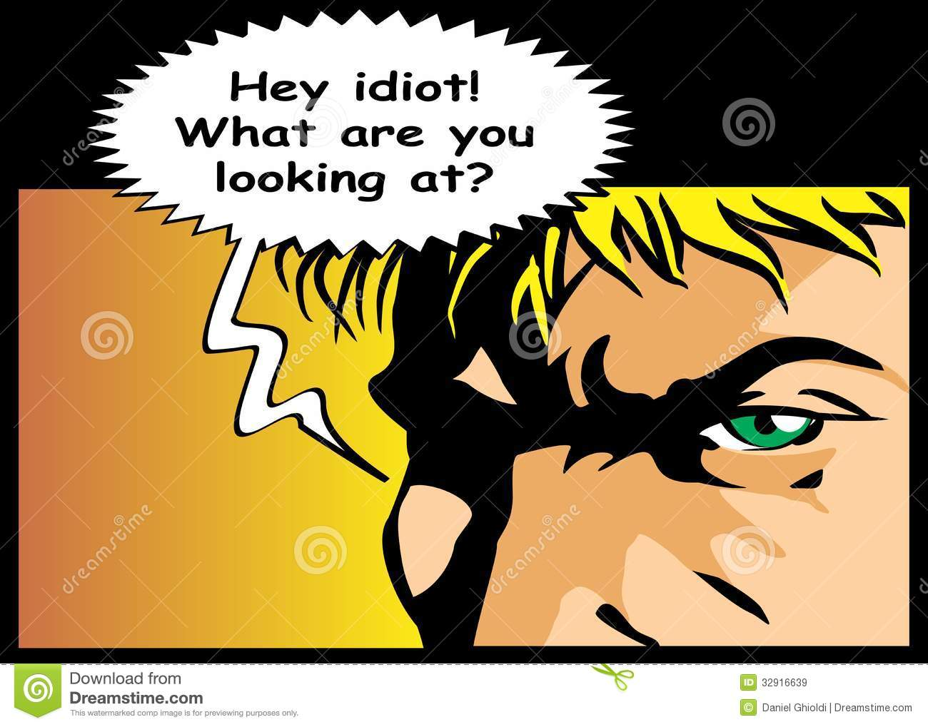 what are you looking at comic royalty stock images image what are you looking at comic