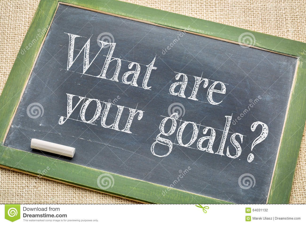 what are your goals stock photo image  what are your goals