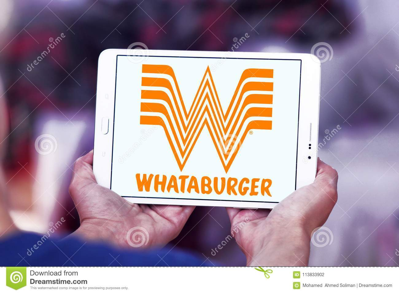 Whataburger Restaurant Chain Logo Editorial Photography Image Of