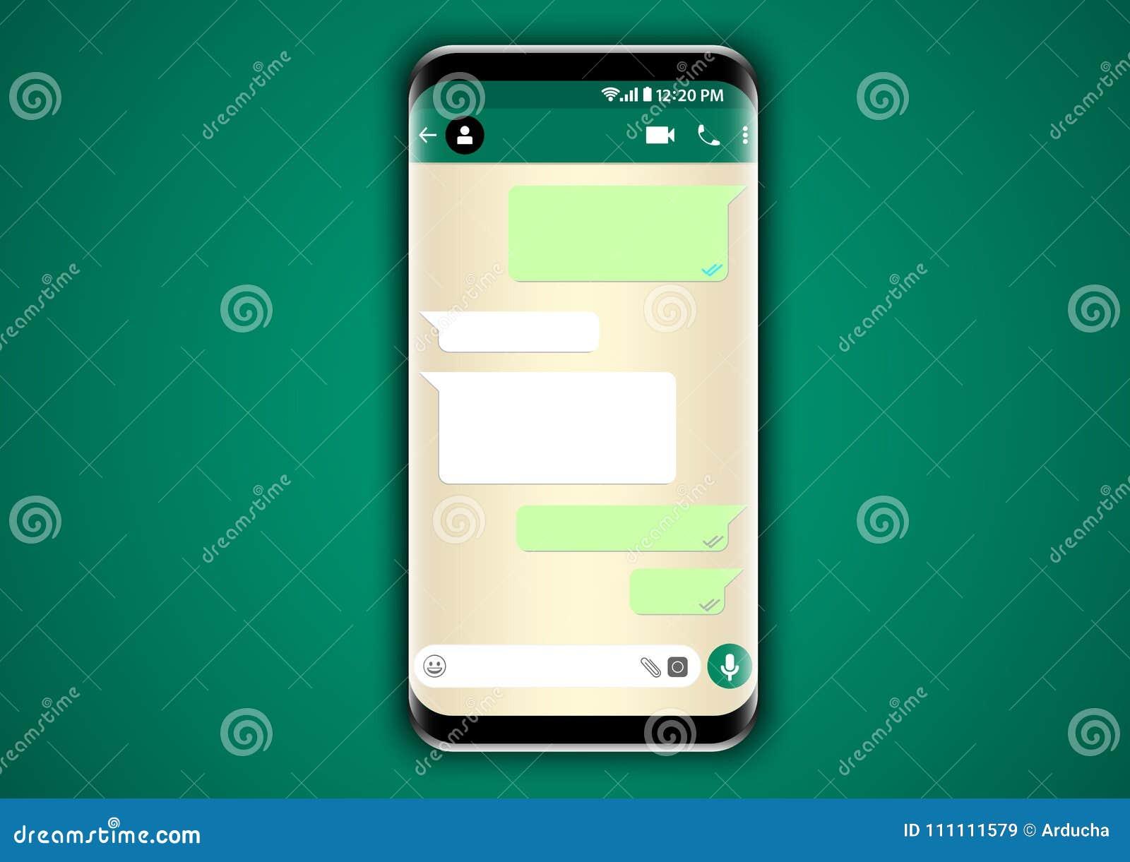 Whatsapp gona gadki interfejs użytkownika
