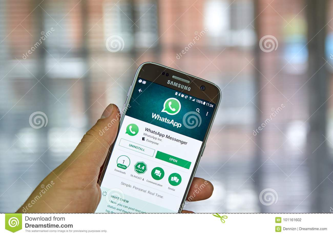 download whatsapp app for samsung phone