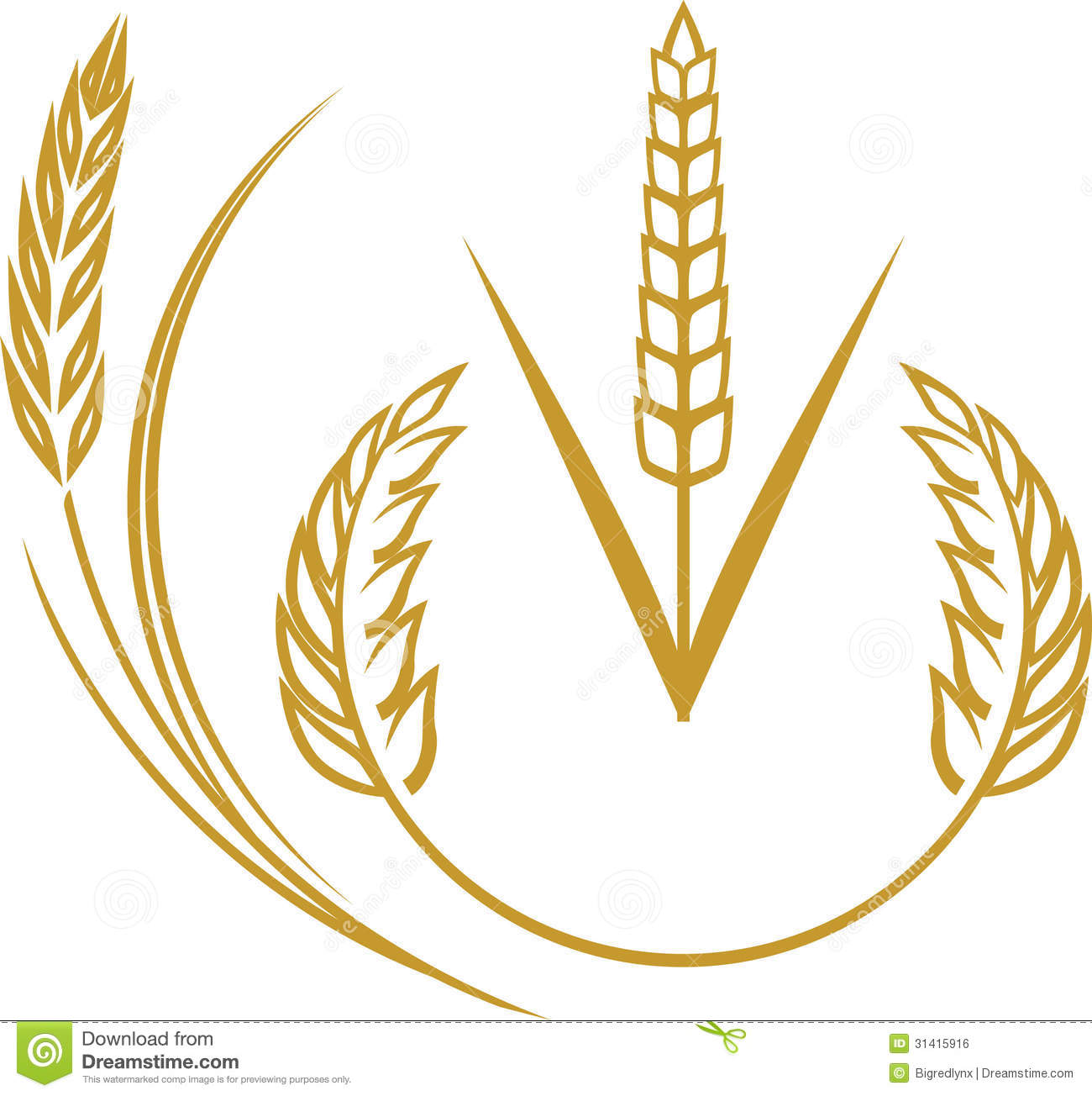 Clip Art Wheat Clip Art wheat stock illustrations 22686 elements royalty free image