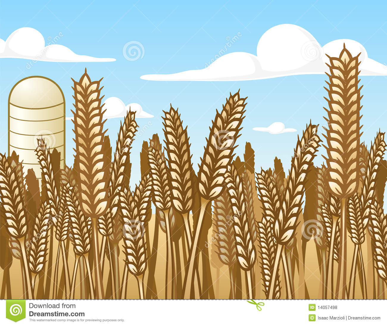 Wheat Field Royalty Free Stock Photos - Image: 14057498