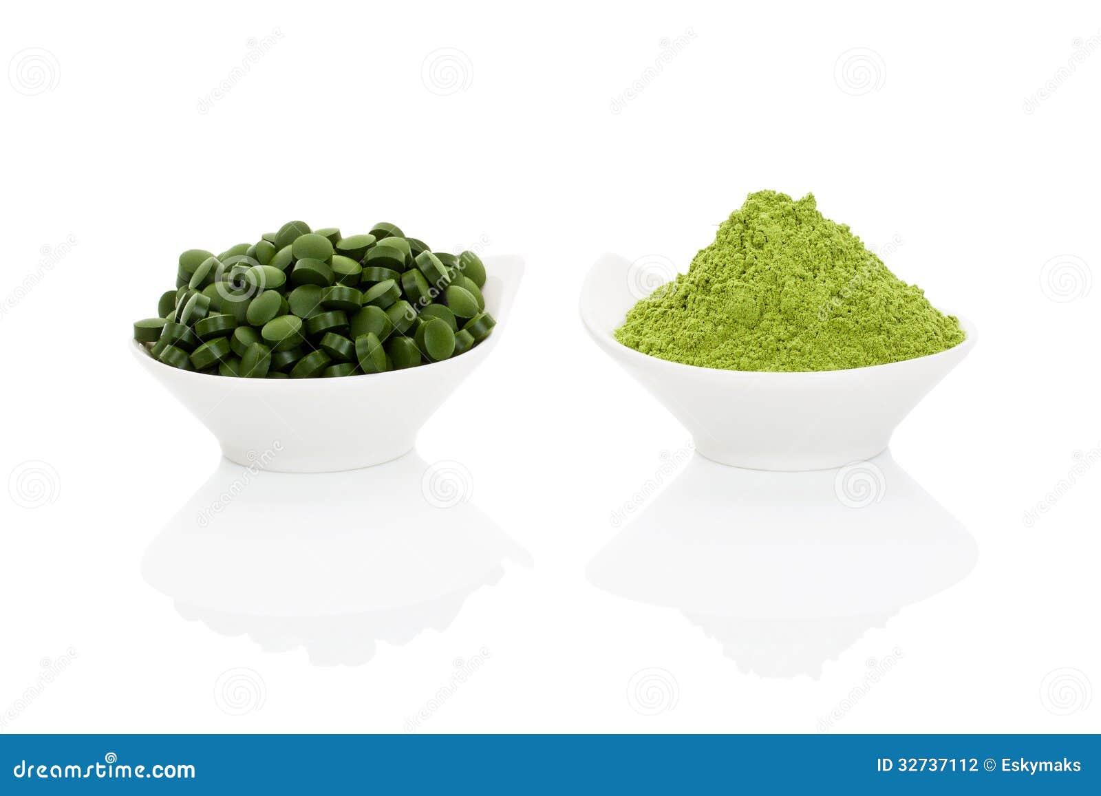 Spirulina Raw Food Diet