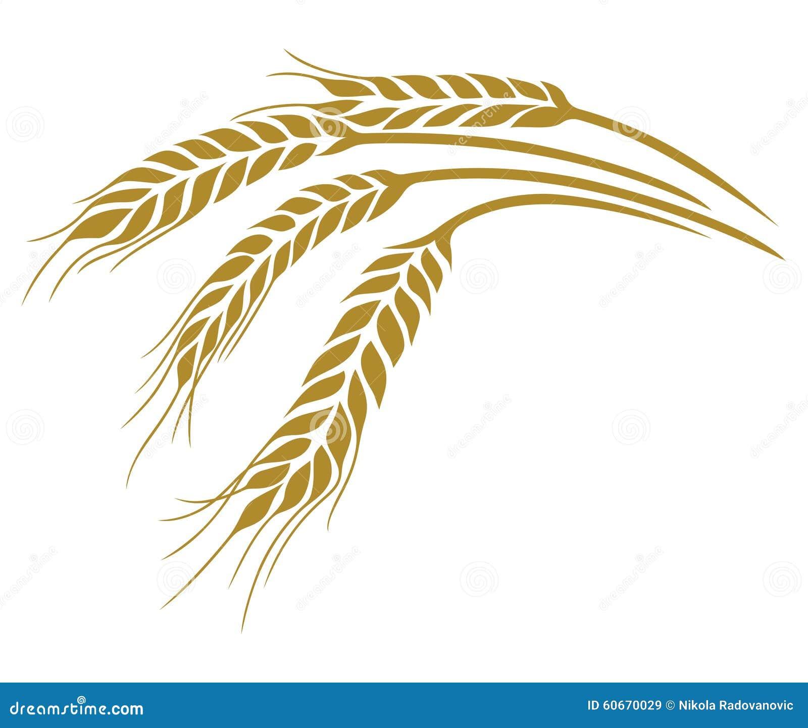 Wheat Stock Illustration - Image: 60670029