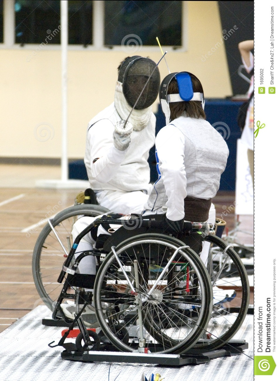 Wheel Chair Fencing for Disabled Persons