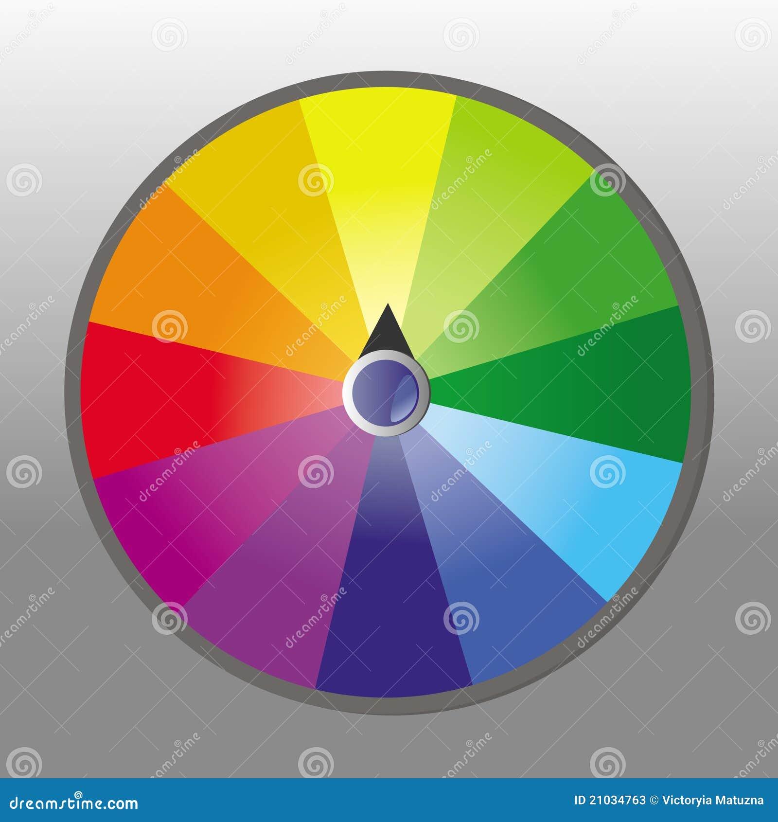 Wheel Of Fortune. Vector Illustration. Stock Vector ...