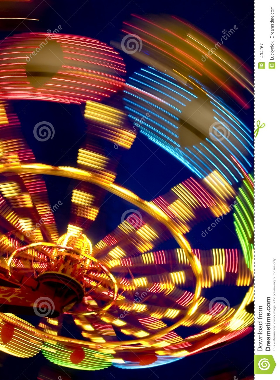 Download Wheel in motion stock image. Image of blue, light, giant - 1404767