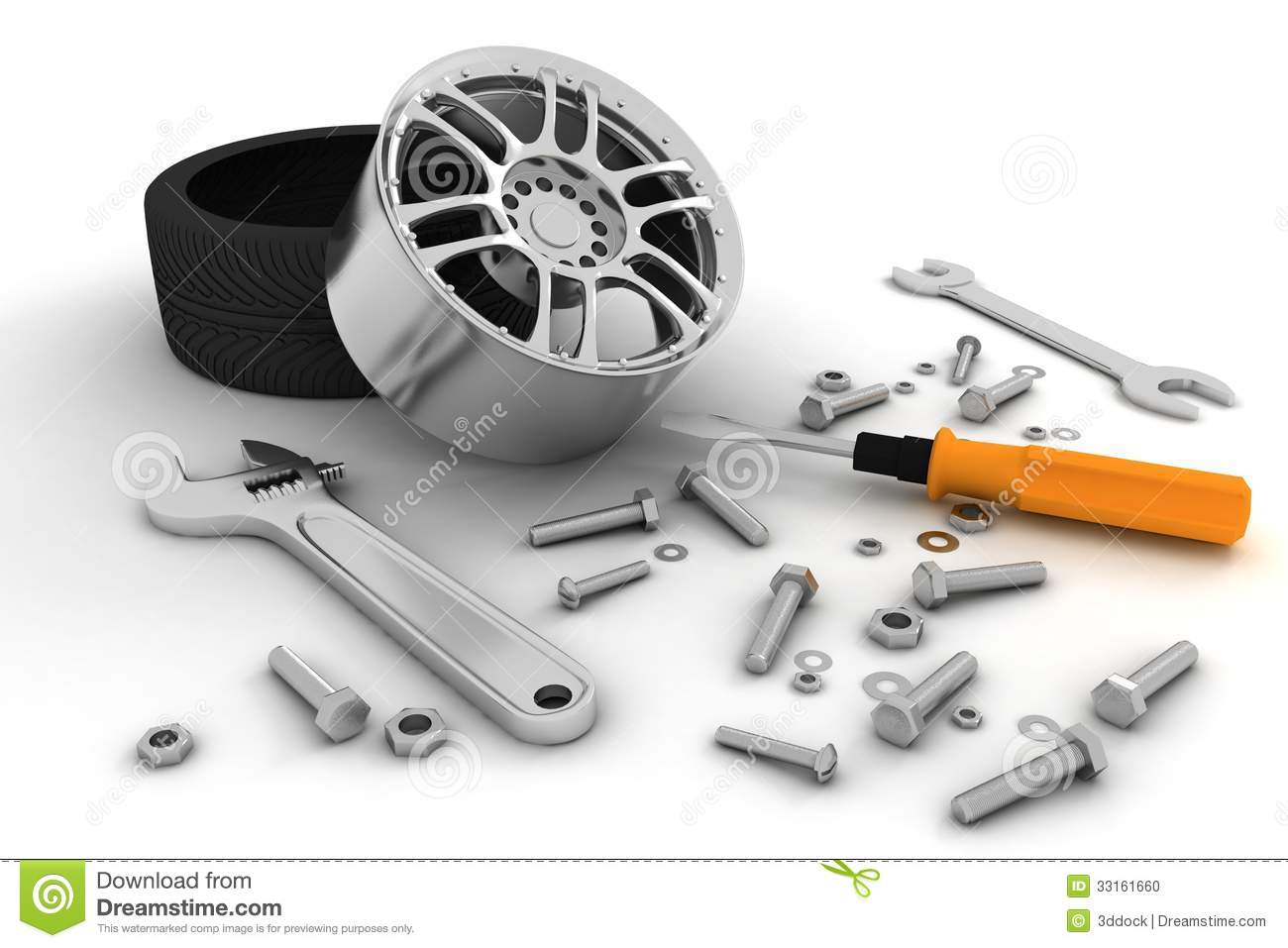 wheel and tools car service stock illustration tire tread marks clipart bike tire tread clipart