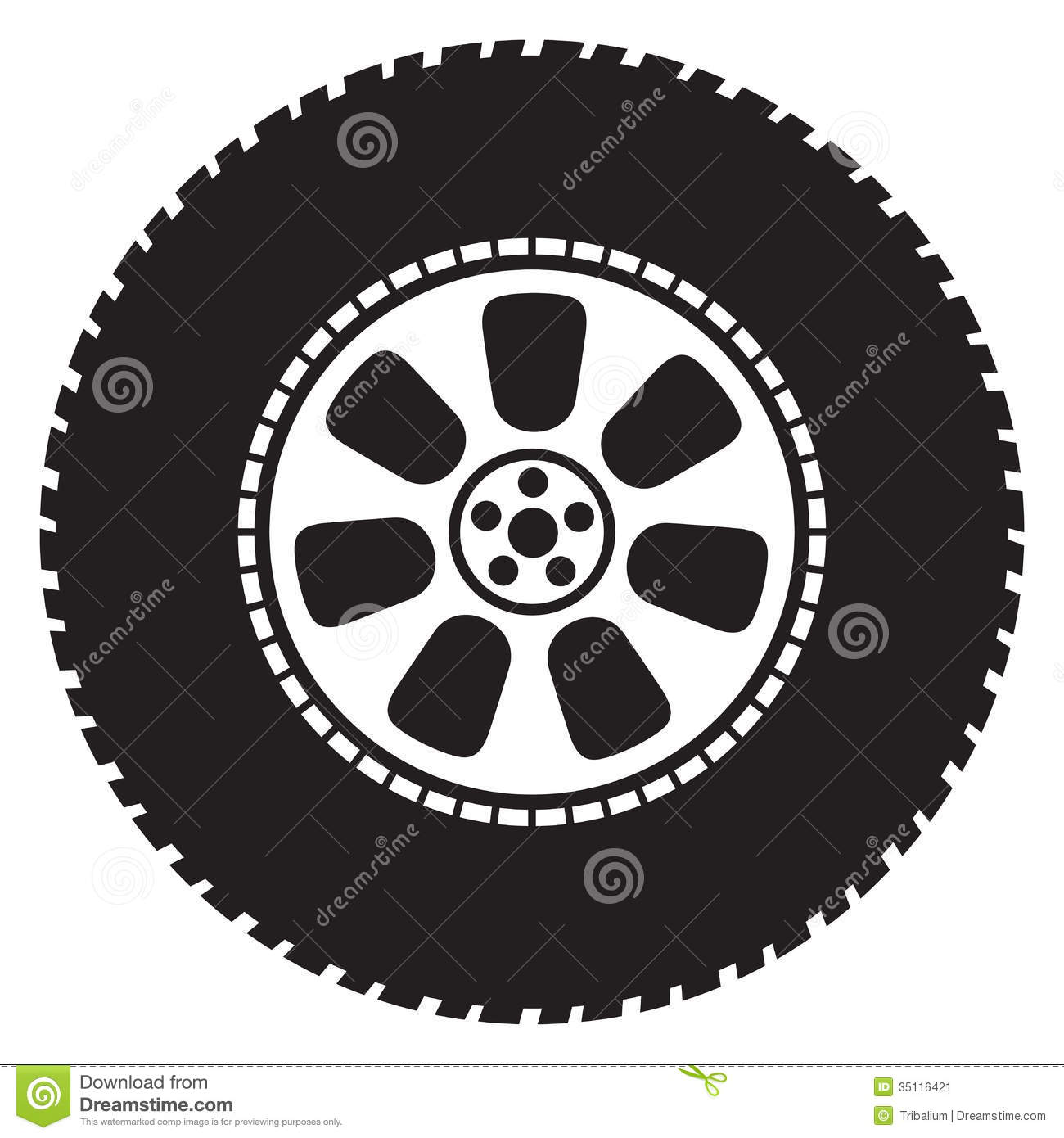 Wheel Stock Image Image 35116421