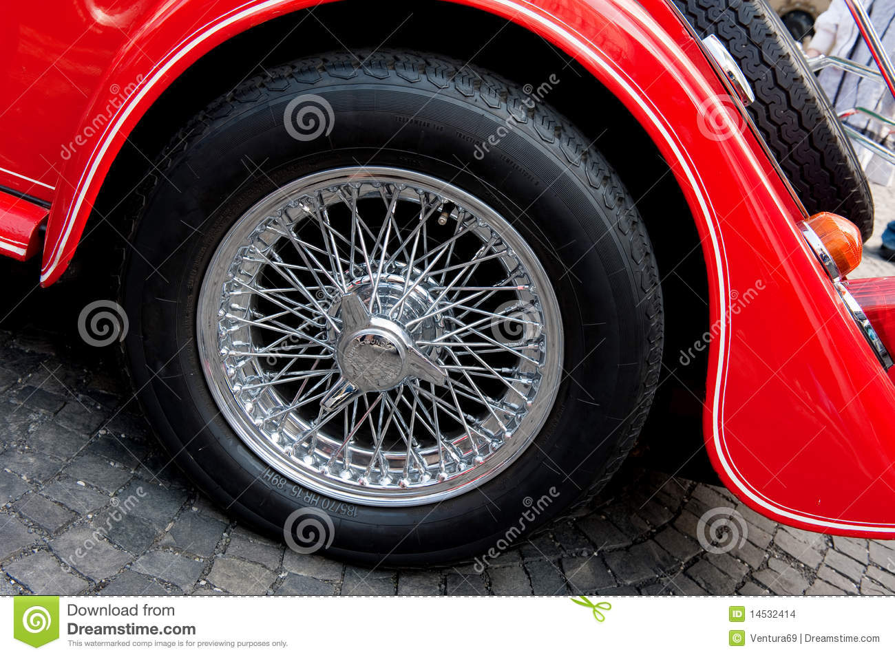 Wheel of vintage car stock photo. Image of industry, machinery ...