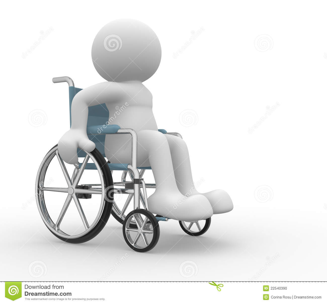 Wheelchair Stock Photo Image 22540390