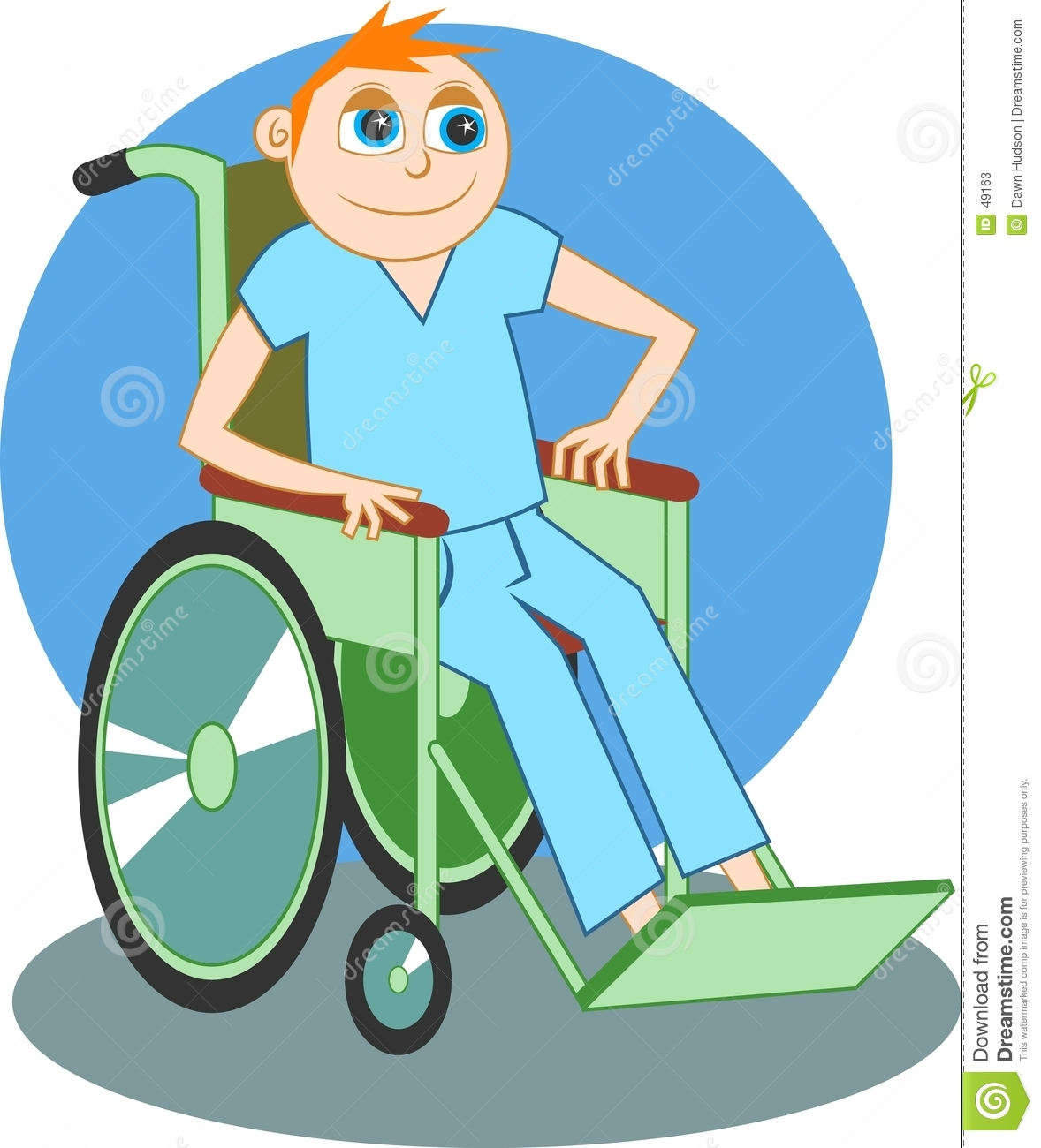 Wheelchair boy stock photos image 49163 for Sedia a rotelle cartoon