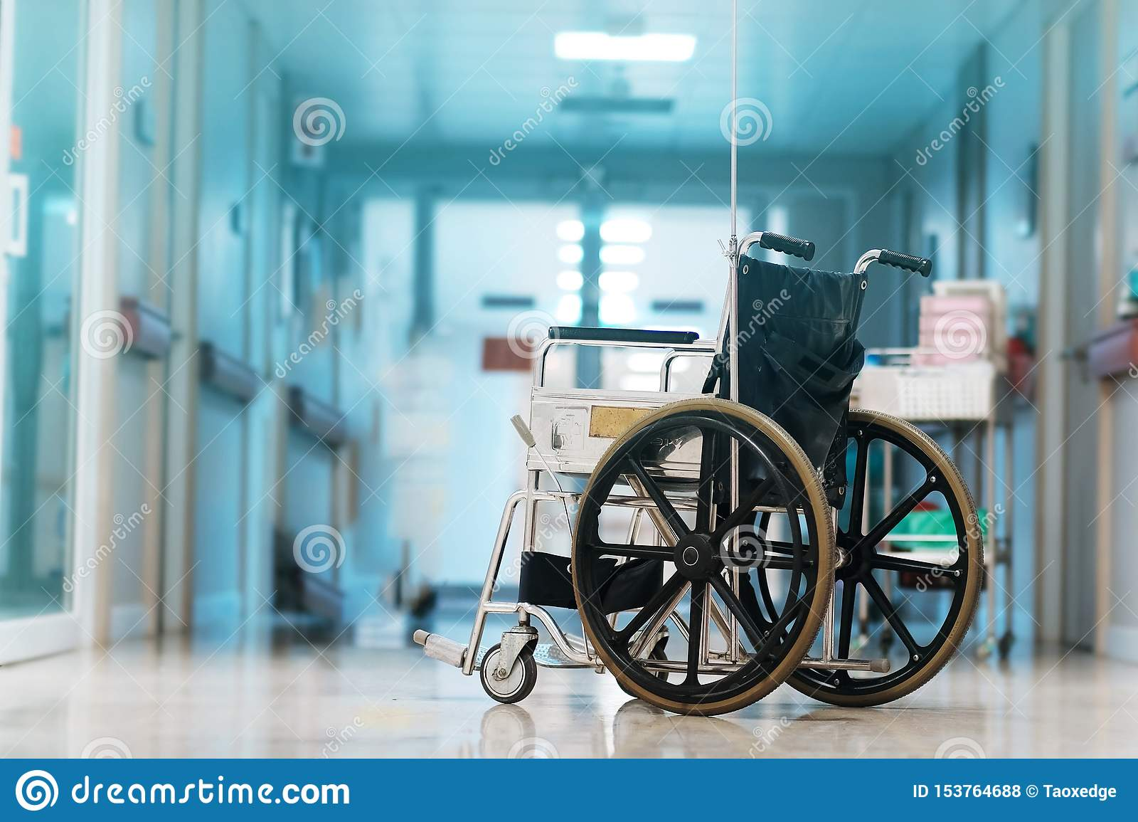 Wheelchair in hospital