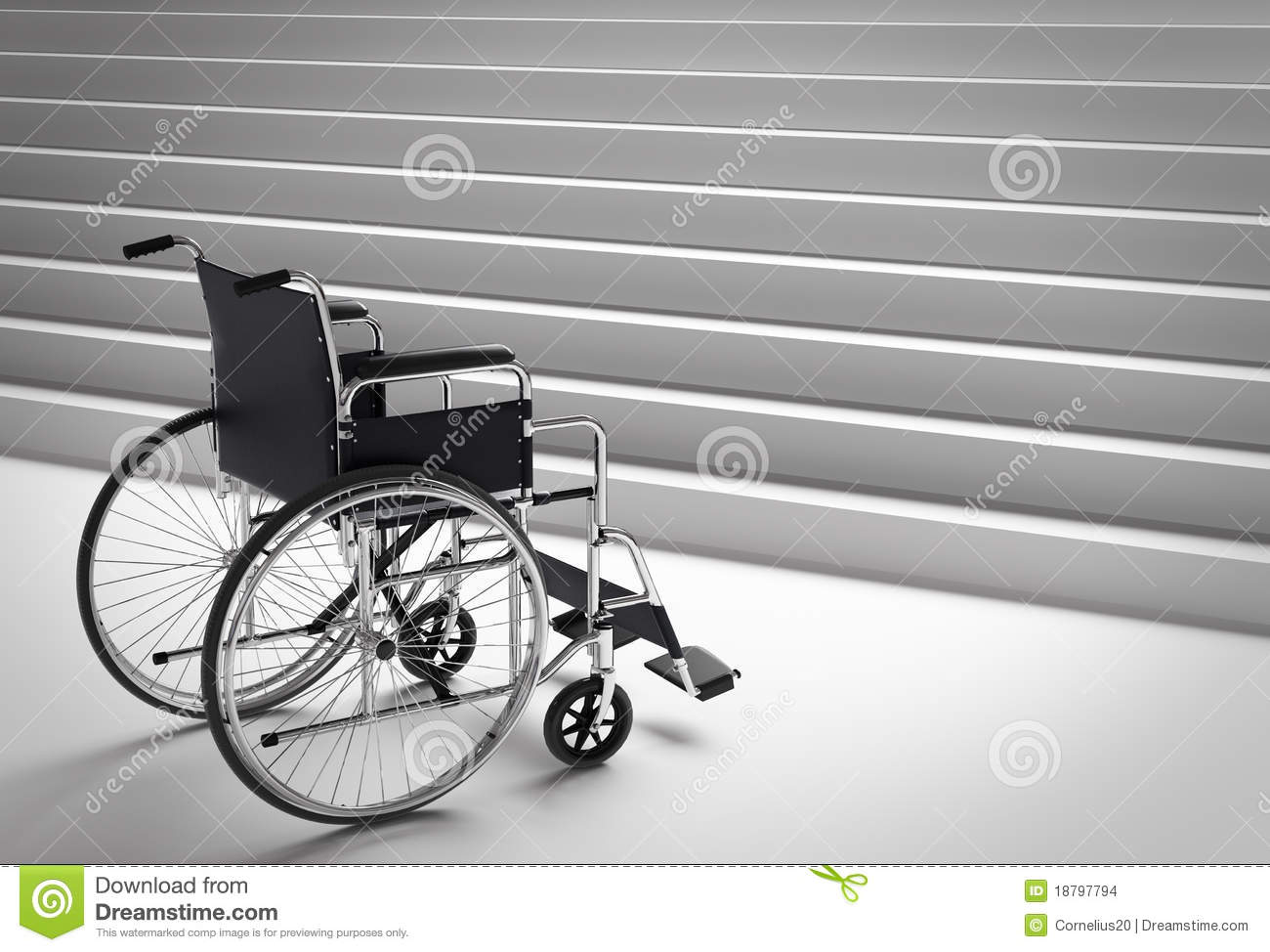 Wheelchair and stairs stock images image 18797794 for Handicap stairs plans