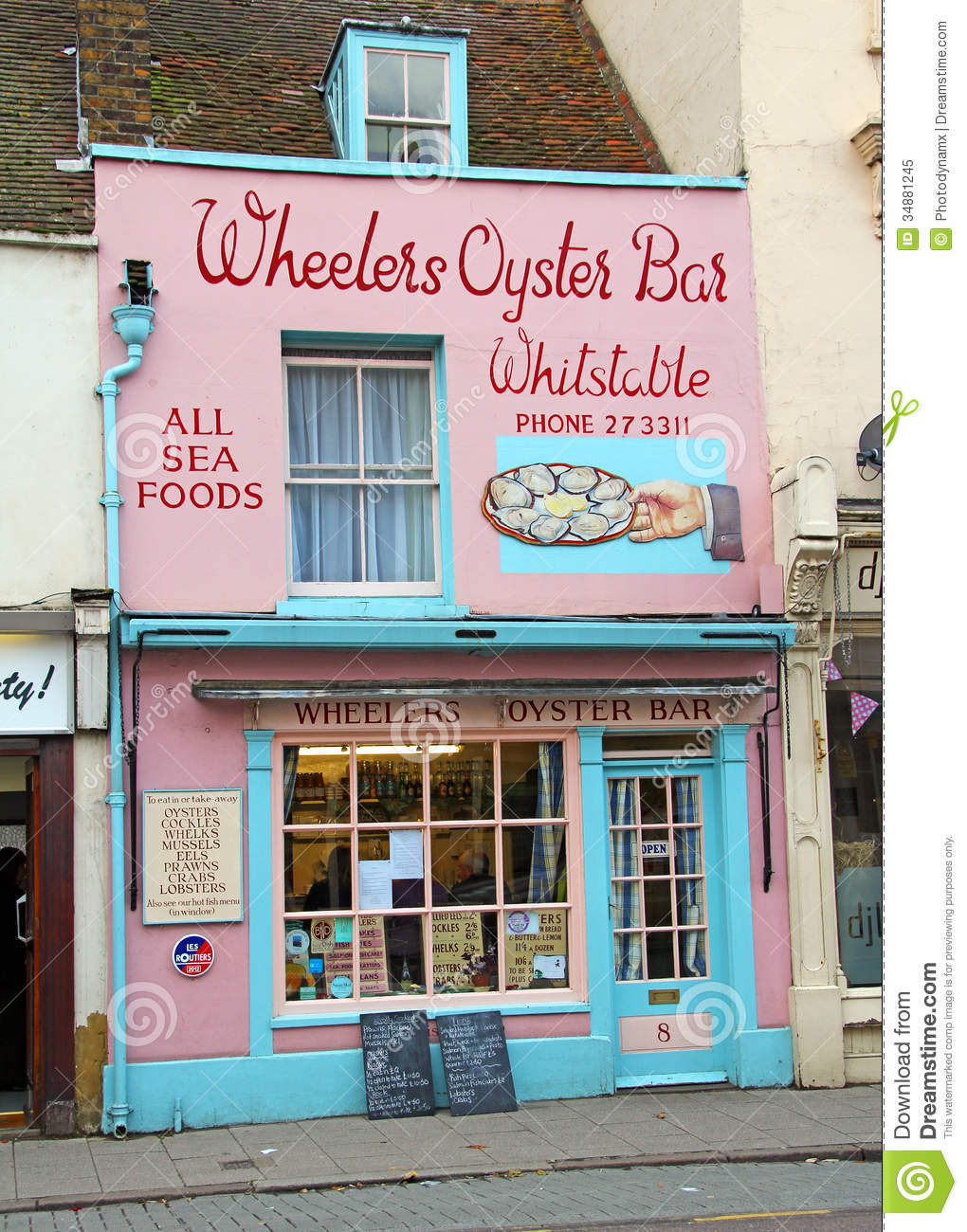 Whitstable Food Shops