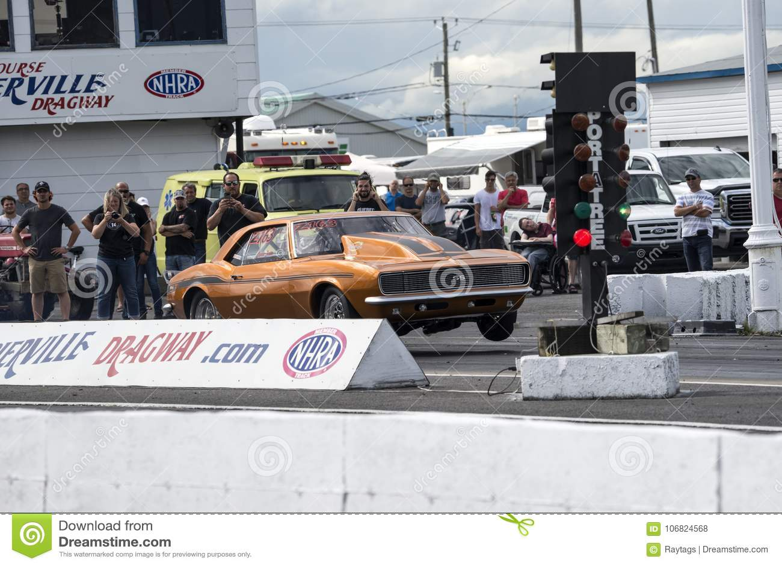 Wheelie de Camaro