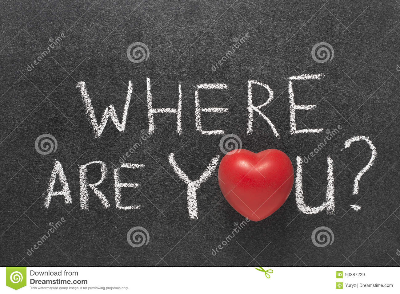 Download Where are you stock image. Image of romance, unite, sign - 93887229