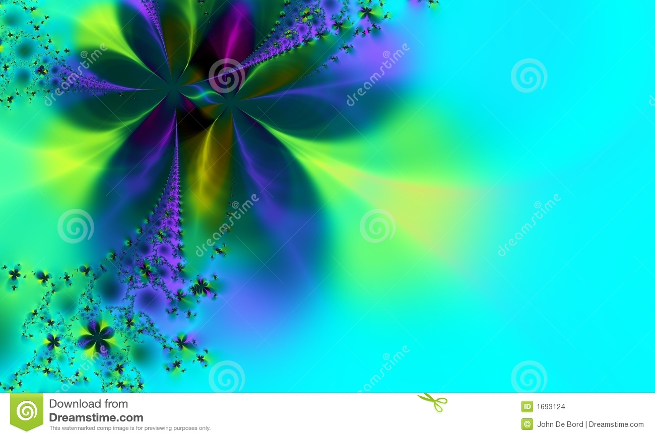 whimsical green and blue background stock images image