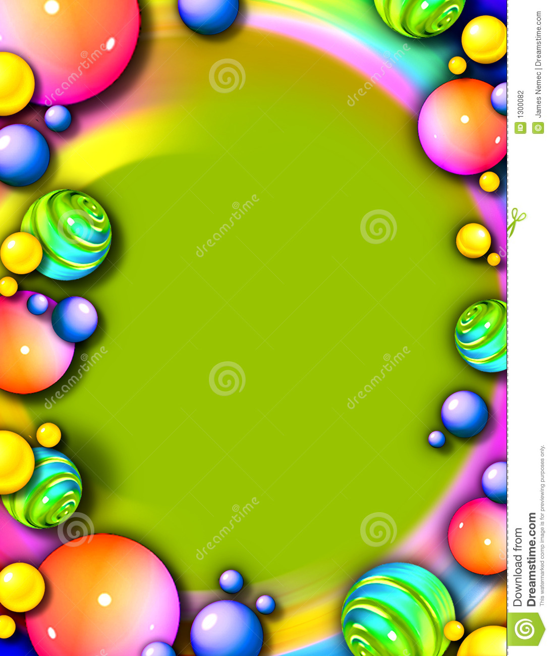 Whimsical Party Frame & Background Stock Photography ...