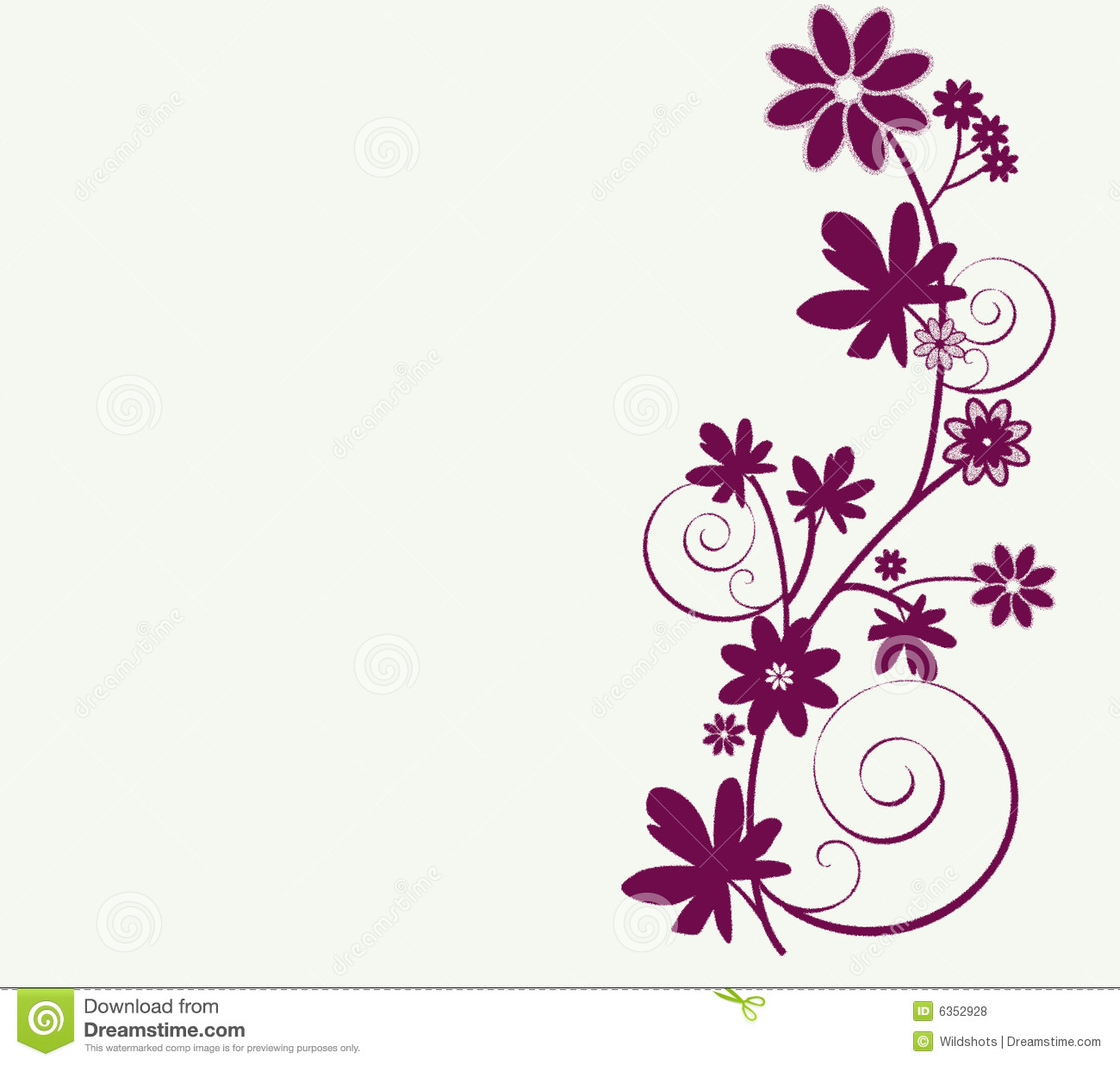 Whimsy design of flowers stock illustration illustration of whimsy design of flowers altavistaventures Images