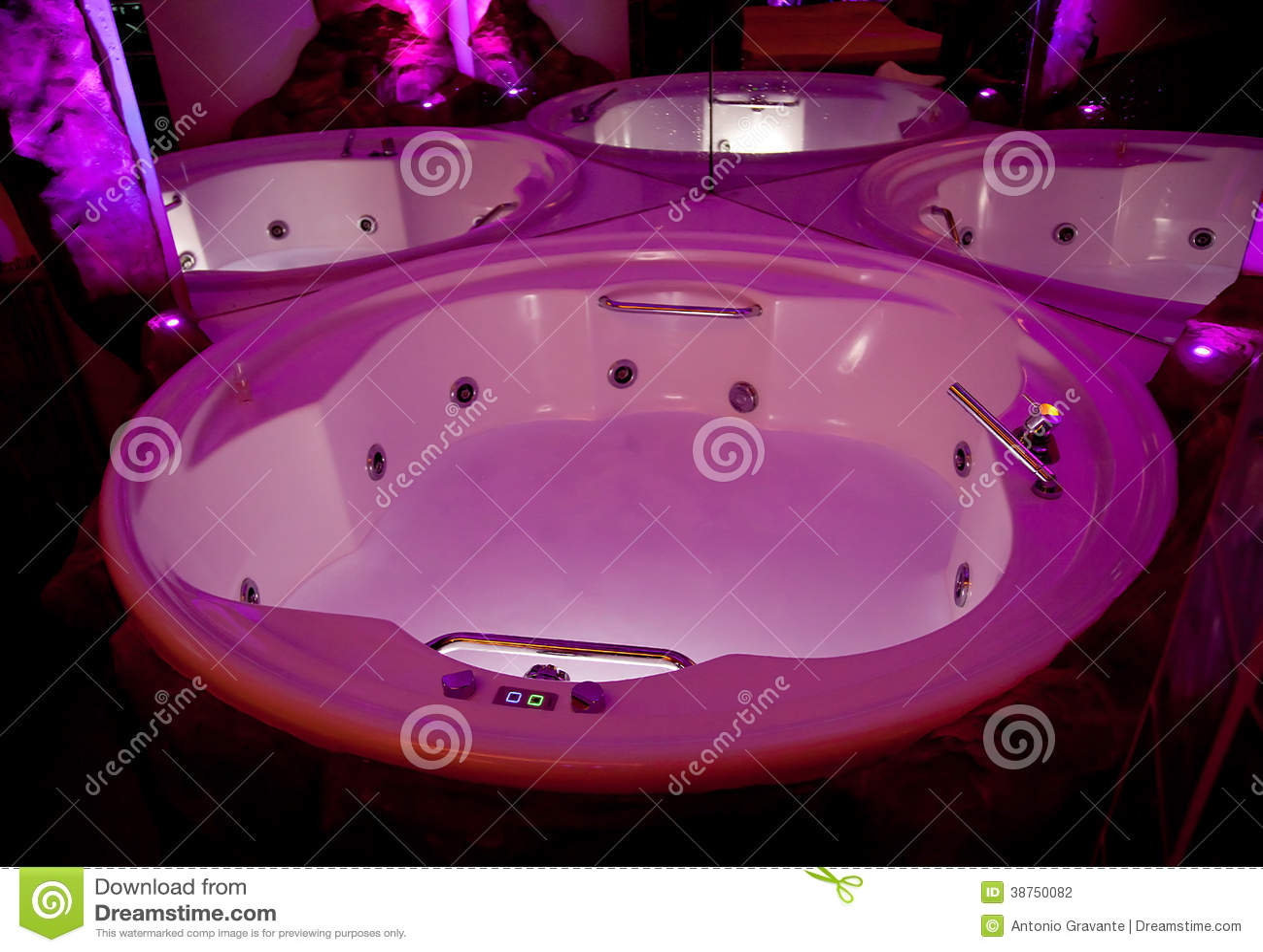 Whirlpool bath stock photo. Image of care, bathtub, bathroom - 38750082