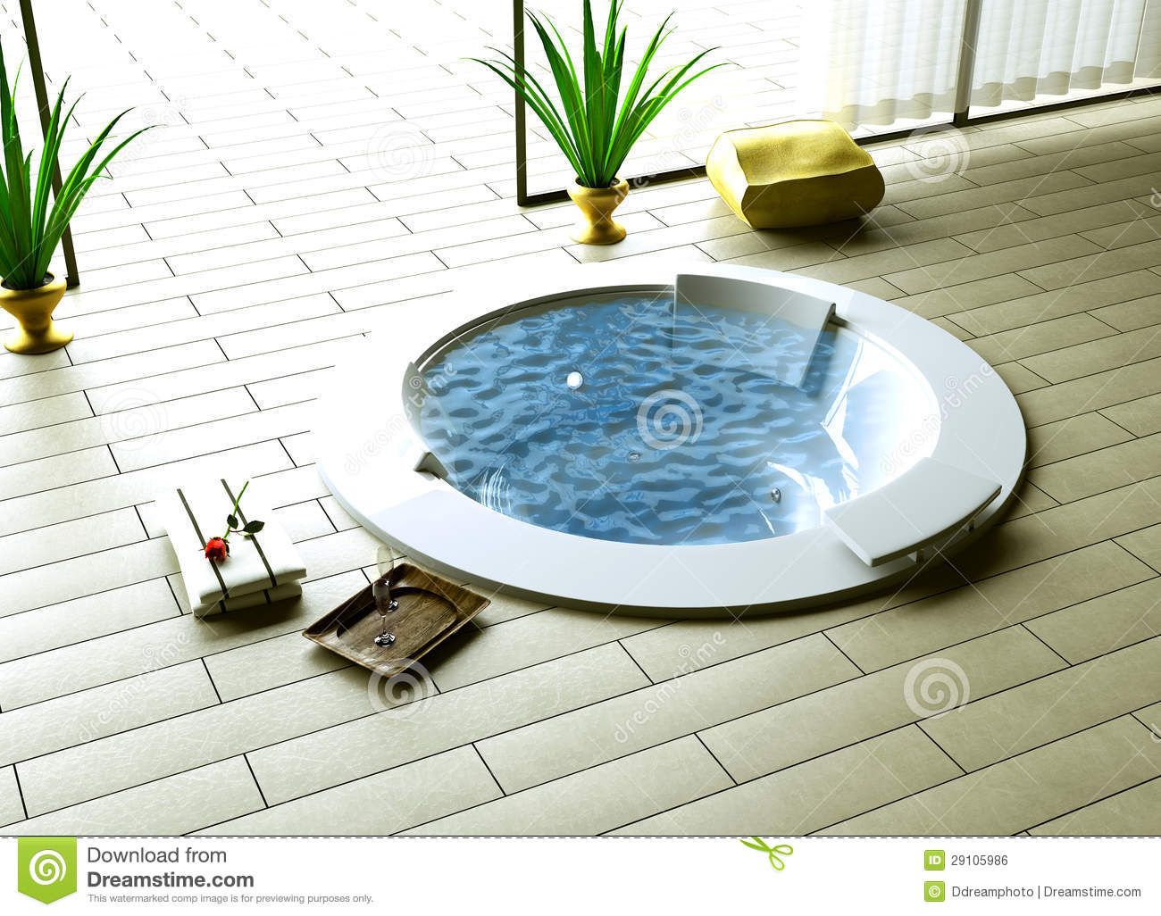 Free Bathroom Floor Plans Whirlpool Inside Outside Stock Illustration Image Of