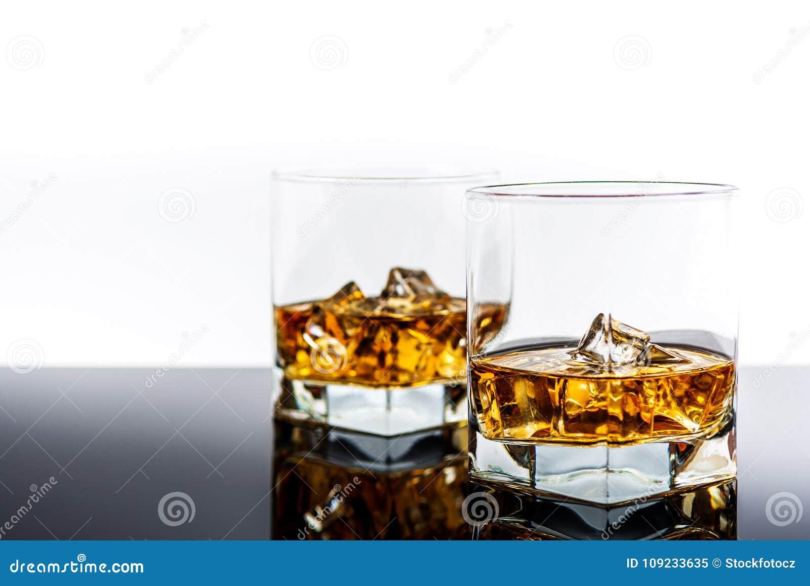 Whiskey avec de la glace