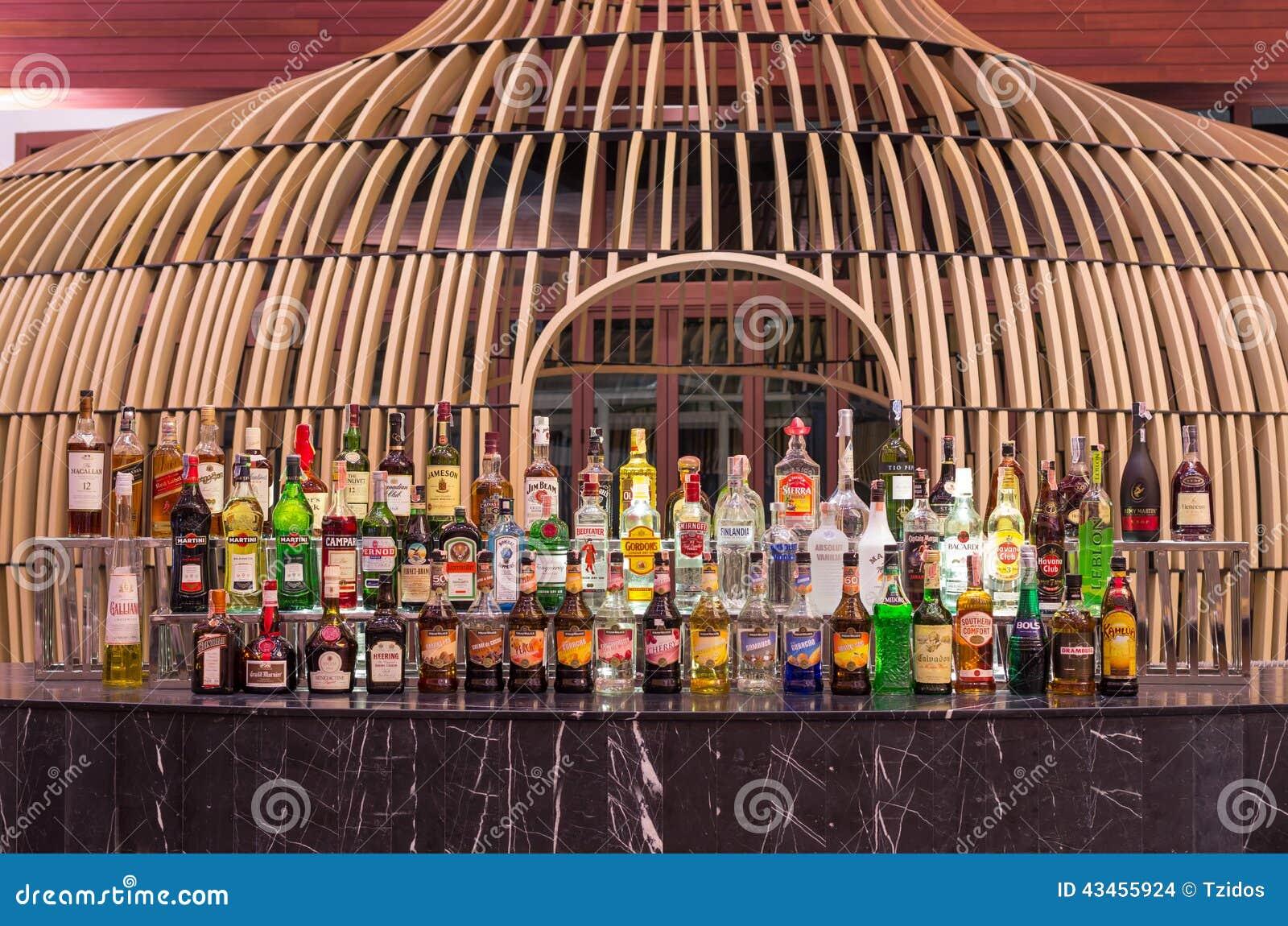 Whiskey Bar At Lobby Of The SENTIDO Graceland Khao Lak