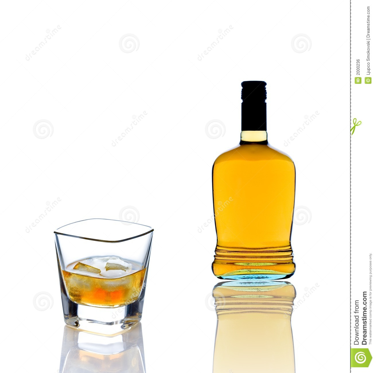 Whisky Bottle And Glass Stock Photo 49256479 : Shutterstock |Whisky Bottle With Glass