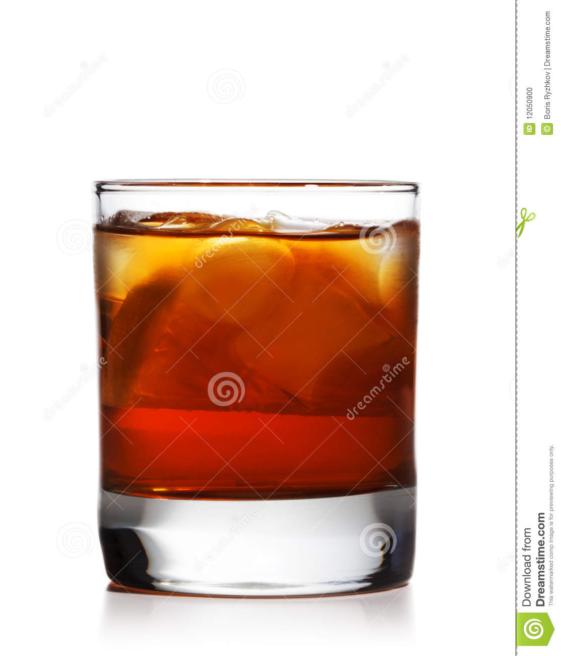 Whiskey Cocktail Stock Photo - Image: 12050900