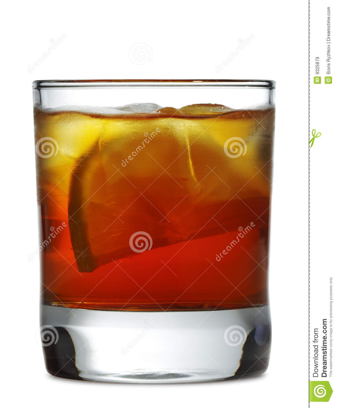 Whiskey Cocktail Royalty Free Stock Images - Image: 9325879