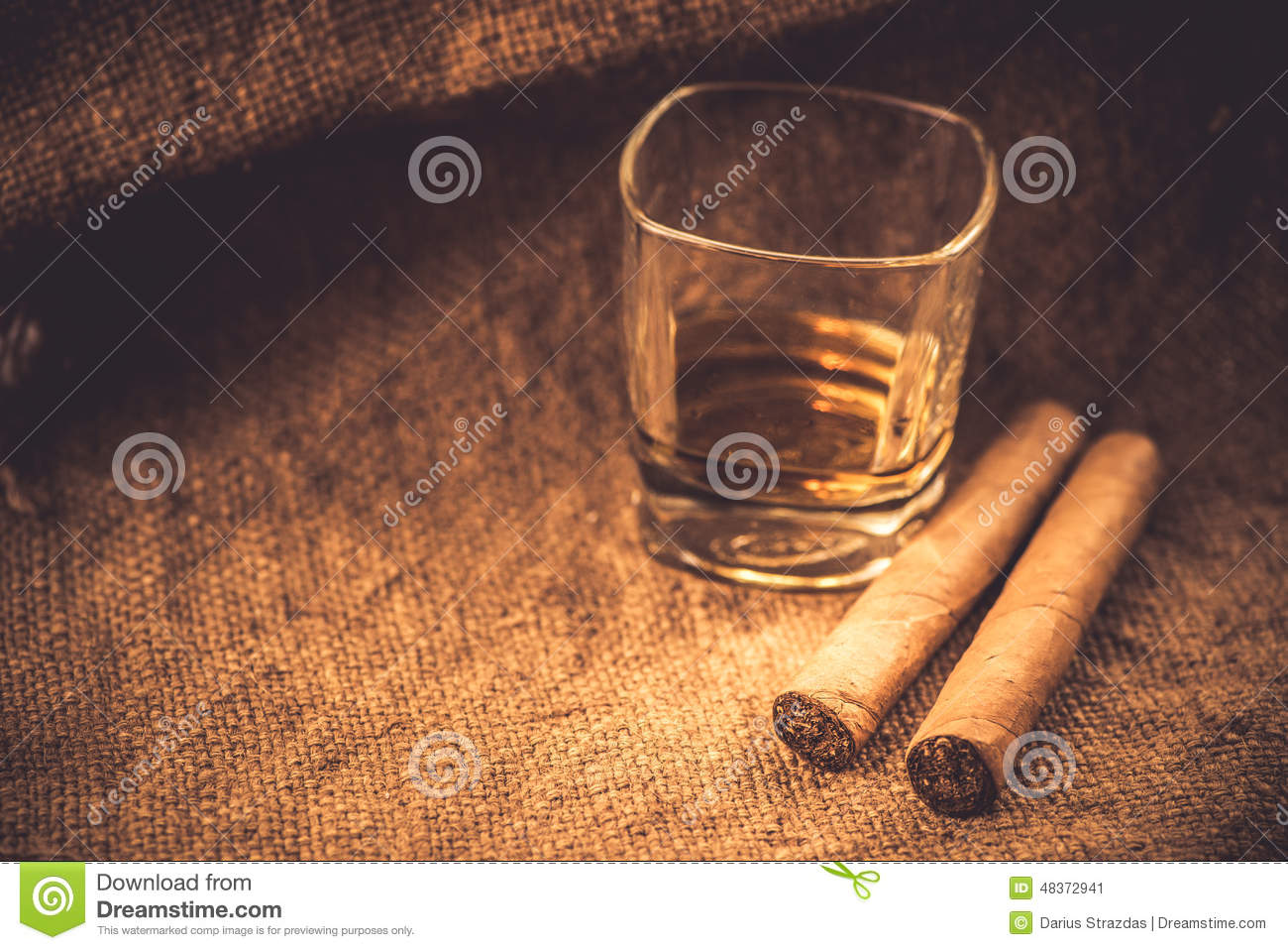 Whiskey et cigares