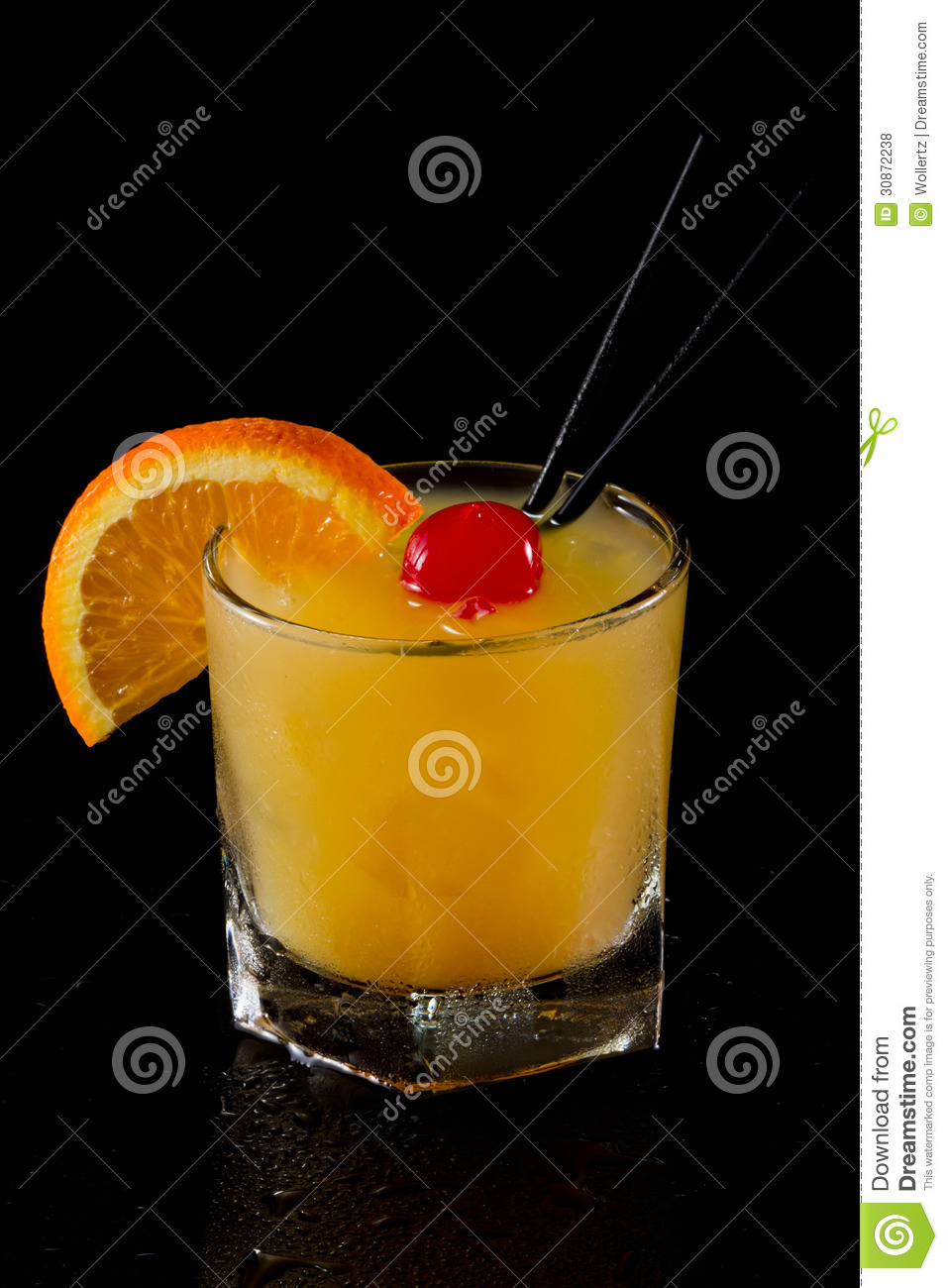whiskey sour on the rocks stock photo image of alcohol