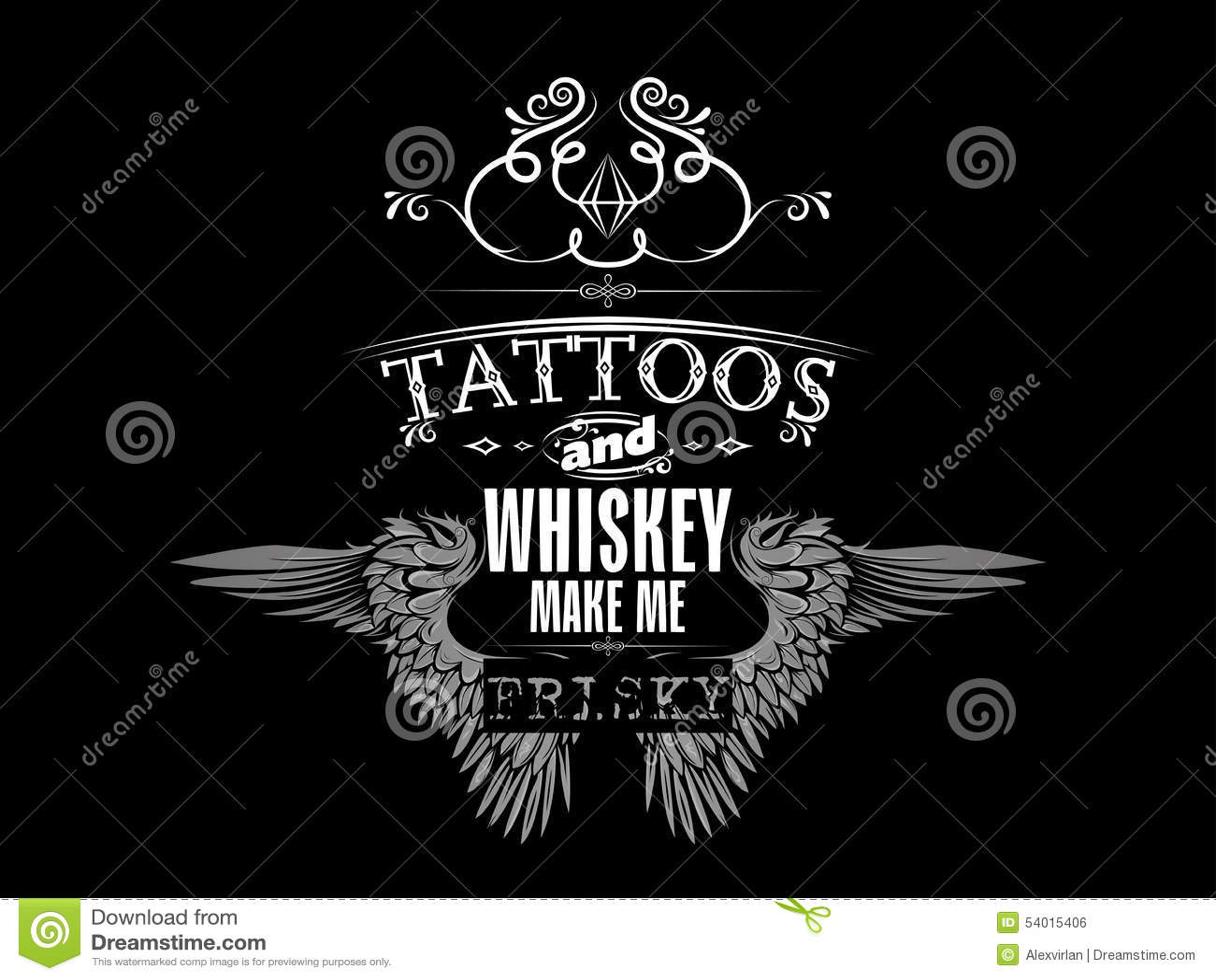 whiskey tshirt design stock vector image 54015406. Black Bedroom Furniture Sets. Home Design Ideas