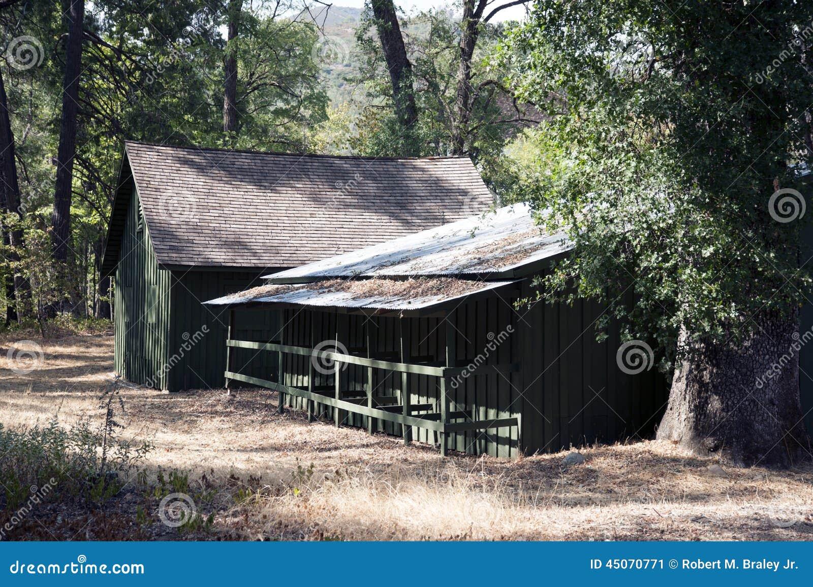 Whiskeytown Camden House Barn