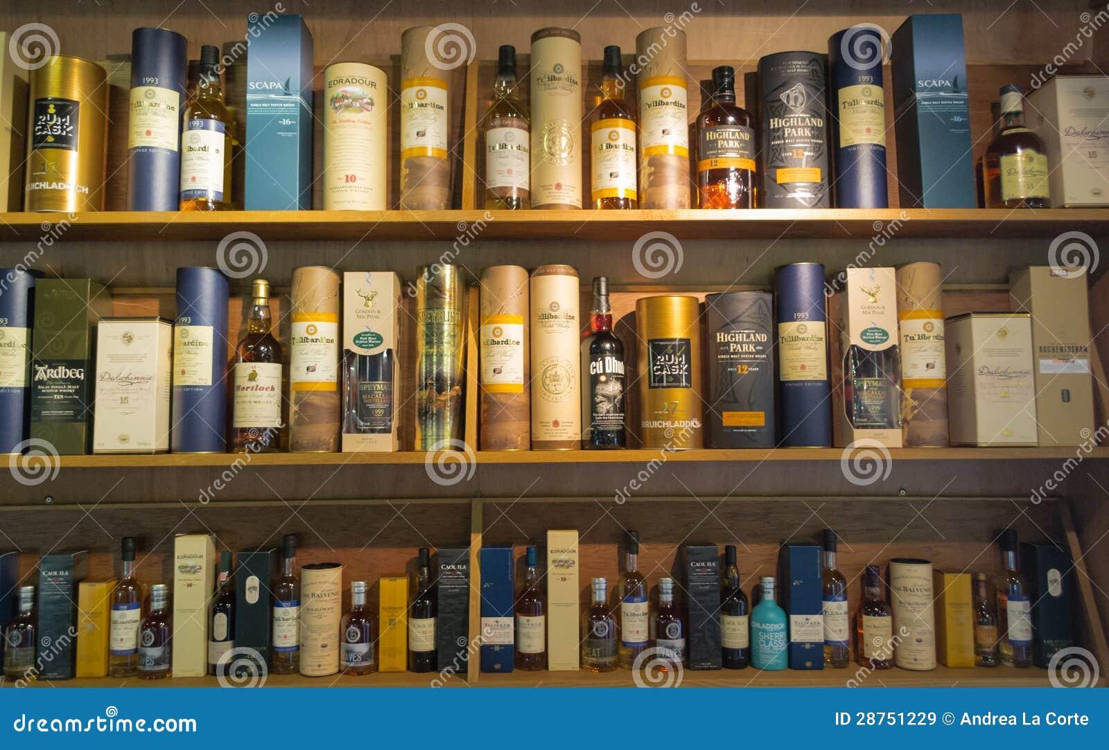 whisky bottles editorial stock image image of drinks. Black Bedroom Furniture Sets. Home Design Ideas