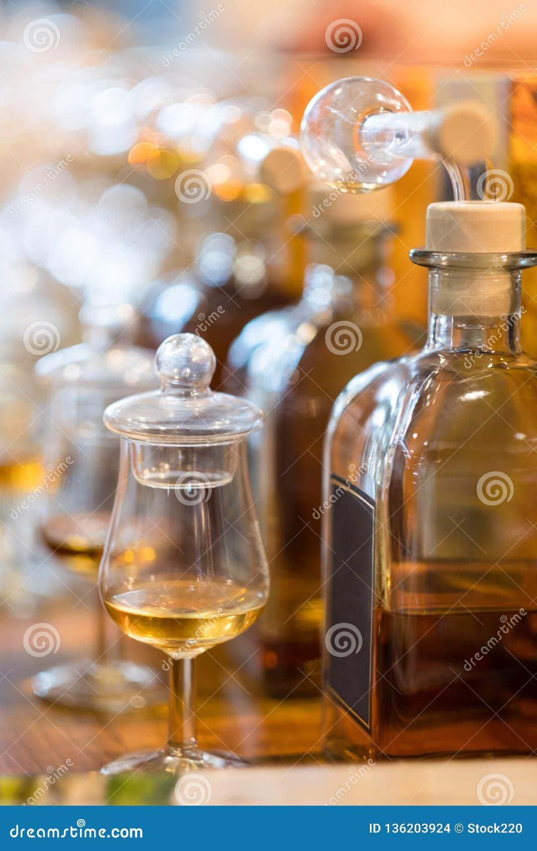 Whisky-oder Whisky-Probieren
