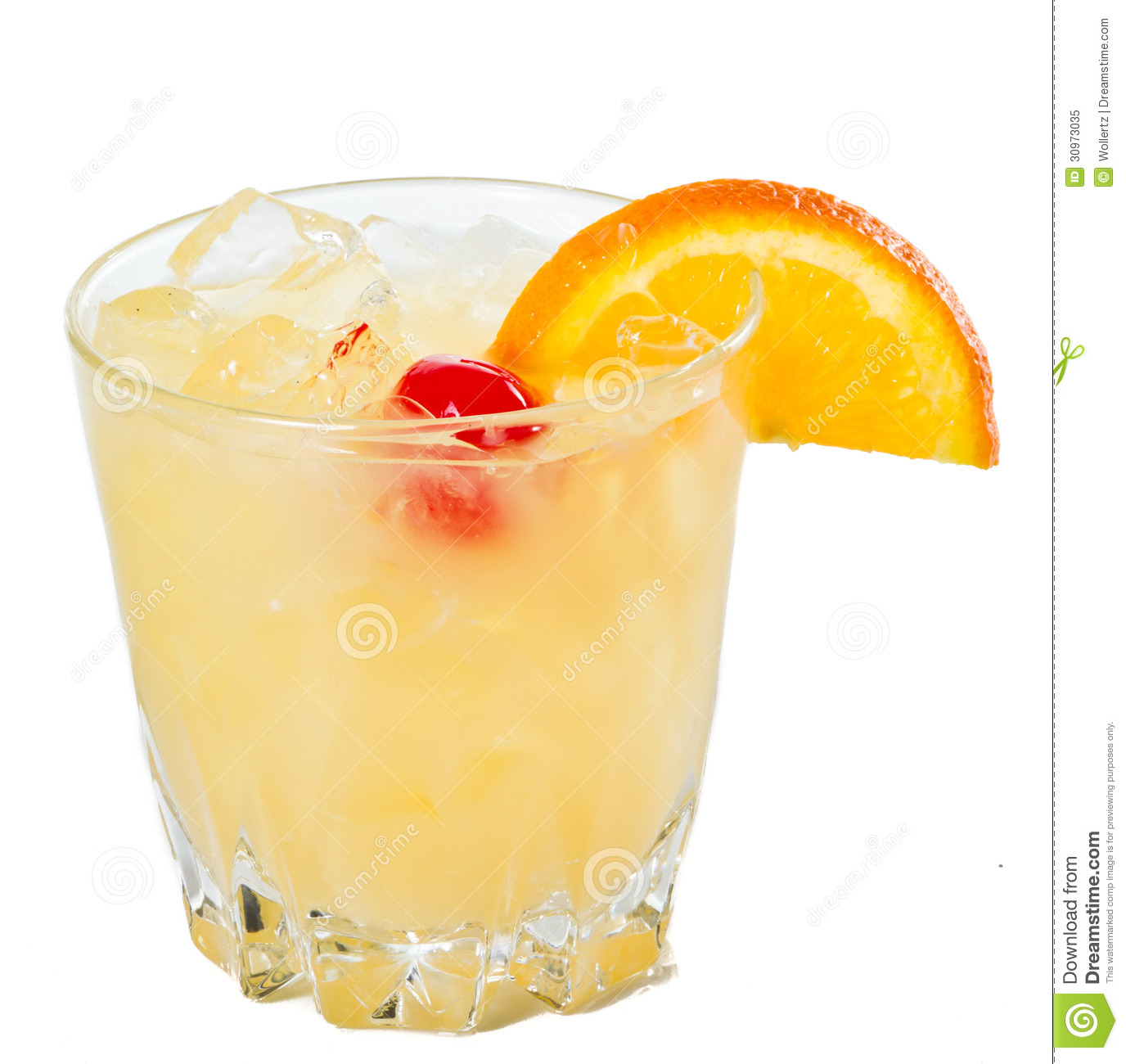 whisky-sour-traditional-whiskey-cocktail-served-rocks-garnished-wiht ...
